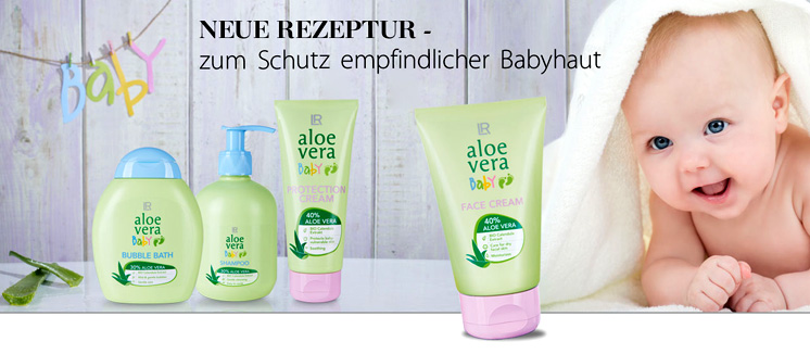 Aloe Vera - Babypflege