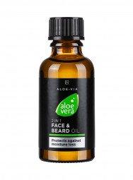 Aloe Vera Mens Essentials 2in1 Gesichts- & Bart-Öl